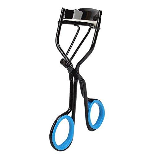 Sourcingmap Poignée antidérapante en caoutchouc Lady Curling recourbe-cils clip, noir/bleu
