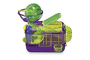 Kaytee/Superpet & Cages Critter Trail X Small Animal Cage Set, 20''x 11.5'' x 18''h