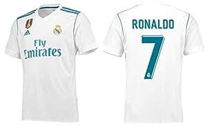 Trikot Herren Adidas Real Madrid 2017-2018 Home WC Badge - Ronaldo 7 (S)