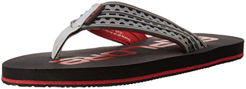 Woodland Men's Black and Red Flip Flops Thong Sandals - 7 UK/India (41 EU)  available at amazon for Rs.347