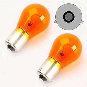 Bau15s02y Py21w Blinkerbirne Gelb Bau15s 12v 21w Versetzte Pins Blinkerlampe Auto
