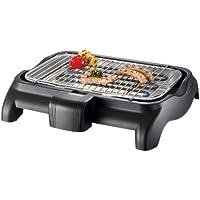 SEVERIN Gril Barbecue, Gril de table, Surface du Gril (37x23cm), 2.300W, PG 9320, Noir