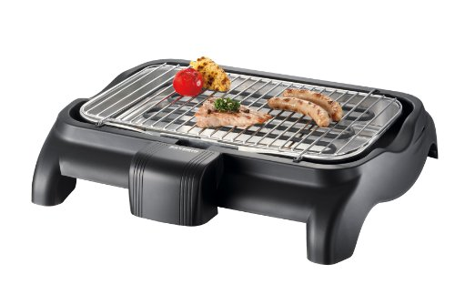 Severin pg9320 barbecue, nero
