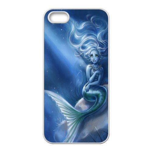 The Little Mermaid Coque pour Apple iPhone 5S, iPhone 5S en silicone TPU Hard Case Cover, iPhone 5Case, beau design Coque de protection pour Apple iPhone 5/5S
