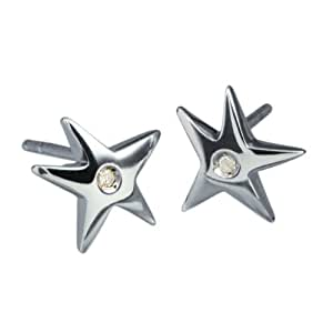 Hot Diamonds Stargazer Silver And Diamond Earrings