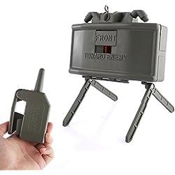 Foxom Grenade de l'eau, Electric Télécommande Water Beads Bomb Grenade Launcher Jouet pour CS Nerf Jeux de Plein Air