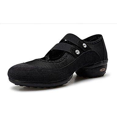 De Dança De Tênis Personalizável Preto Prática Couro Não Salto Dançando Xiamuo Modernos Tênis Mulheres Sapatos nxXwpqq8T