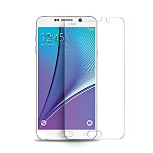 SNOOGG Samsung Galaxy On5 - BlackFull Body Tempered Glass Screen Protector [ Full Body Edge to Edge ] [ Anti Scratch ] [ 2.5D Round Edge] [HD View] – White