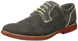 Ruosh Mens Black Boots - 8 UK/India (42 EU)(MCO-85-03)