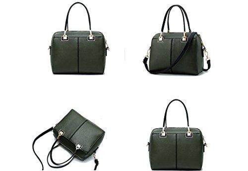 Borse, signore semplice borsa, il sacchetto di spalla di modo, sacchetto del messaggero ArmyGreen
