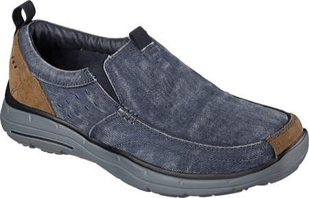 Skechers Fit Relaxed Patins - Benideck Navy