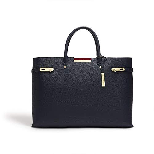 LaBante - Damen Tasche - Windsor - veganer umhängetasche blau schultertasche | shopper Alltag tasche große tasche hochwertige tasche Frauen