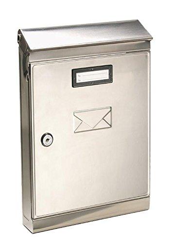 Vigor blinky 27265-10 eco cassetta per lettere inox, 22x7.5x32, acciaio