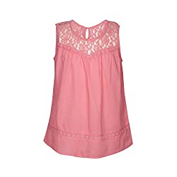 Gini & Jony Baby Girls' Blouse Top (122030181817 C505_Azalea Pink_12M)