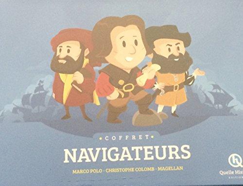 COFFRET NAVIGATEURS (3 liv.+1 poster)
