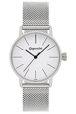 Gigandet Reloj Mujer Minimalism Correa de Acero Plata G43-005 de Gigandet