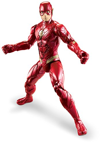 Mattel FGG81 DC Justice League Movie Basis Figur The Flash, 30 (Woman Anzug Wonder)