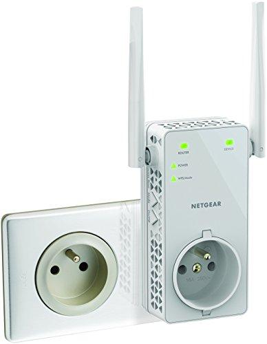 Netgear EX6130-100FRS - Version FR - Répéteur Wifi AC 1200Mbps Double Bande - Améliore Votre Wifi - Installation Rapide - Bouton Point d'Accès