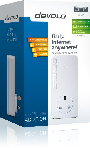 devolo-dlan-650-triple-add-on-powerline-adapter-3-gb-lan-ports-pass-through-600-mbps