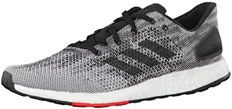adidas hommes eacute; eacute; hommes stimuler les rmr des chaussures pure, noir, 9,5 royaume - uni 66a179