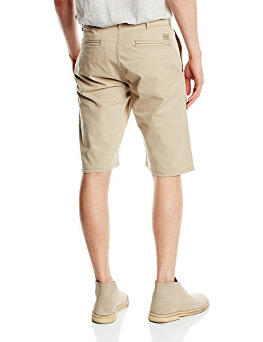Wrangler - Chino - Shorts - Homme Beige (Camel Washed)