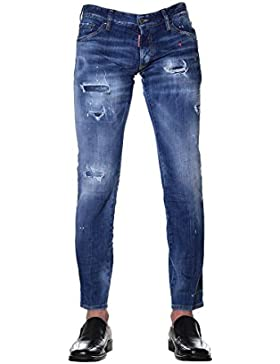 Dsquared2 Hombre S71LB0445S30342470 Azul Algodon Jeans