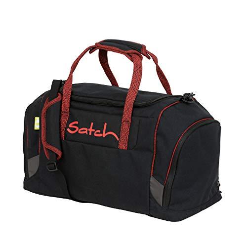 Satch Duffle Bag Black Volcano Freizeit- und Sportbekleidung, Unisex, für Kinder, Rot, Einheitsgröße