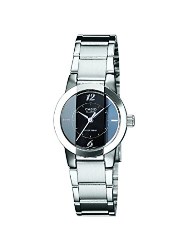 Casio Enticer Analog Black Dial Women\'s Watch - LTP-1230D-1CDF (SH33)