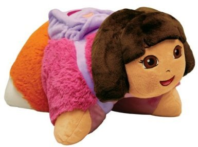 Pillow Pets, Pee Wees, Nickelodeon Dora the Explorer, 11 Inches (Pillow Pet 11 Zoll)