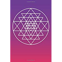 Sri Yantra Symbol: Blank Lined Notebook, Journal or Diary
