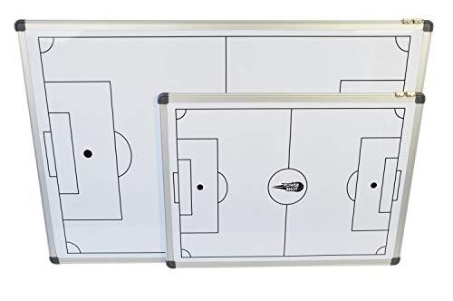 Netsportique POWERSHOT ® Lavagna Tattica Calcio Magnetica e scrivibile - 60 x 45 cm