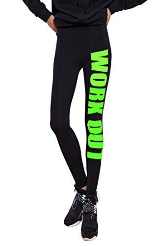 Molly Donne Abbigliamento Fitness Palestra Leggings Libero Formato Verde