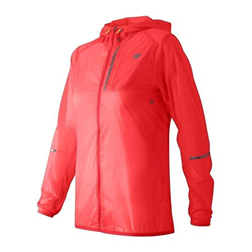 New Balance Lite Packable Women's Jacke - AW16, L, Pink