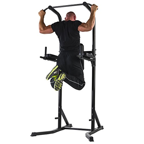 Marcy Fitness Dip Station Power Tower Deluxe im Test plus Praxis-Tipps