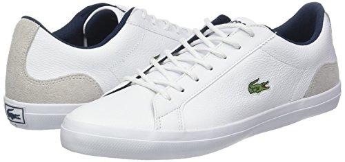 Lacoste Men''s Lerond 318 3 Cam Trainers, White (Whtnvy 042), 10 Uk 10 Uk