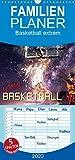 Basketball extrem  - Familienplaner hoch (Wandkalender 2020 , 21 cm x 45 cm, hoch): Ein Basketball-Kalender der besonderen Art. (Monatskalender, 14 Seiten )