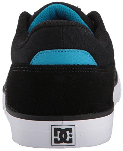 Dc Shoes Wes Kremer, Espadrillas Basse Uomo Noir / Bleu / Blanc