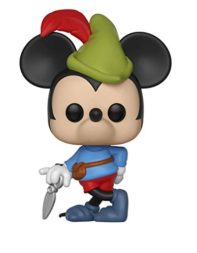 Funko - Pop! : Disney: Mickey's 90th Anniversary: Brave Little Tailor Mickey, Mehrfarbig, 32189