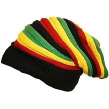 CRAZY LIZARD Rasta Reggae Gorro para 3 Stripes