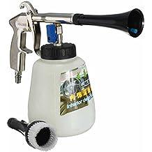 Pistola de lavado para interior de coche con cepillo de alta presión, pulverizador de limpieza
