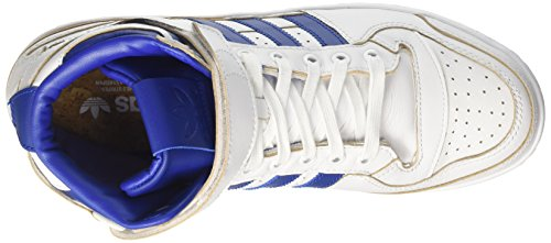 adidas Forum Mid (Wrap), Chaussures de Basketball Homme Multicolore (Ftwr White/collegiate Royal/ftwr White)