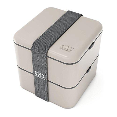 Monbento MB Square grau–Die quadratische Bento-Box