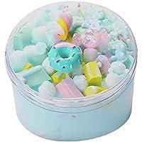 Zarupeng 60 ML Juguetes Helado Hermoso Color Mezcla Nube Cadenas Pelota Ice Cream Cloud Slime Putty Clay Niños Juguete de Arcilla