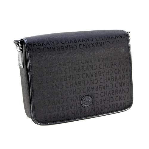 Chabrand - Besace en nylon et cuir ref_cha25611-noir