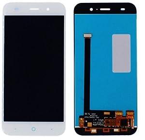 ZTE Blade V6 kompatibles LCD Display Touchscreen Digitizer Weiß + Werkzeugset & Klebeband