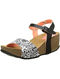 Desigual Bio7 Save Queen Black, Heels Sandals para Mujer