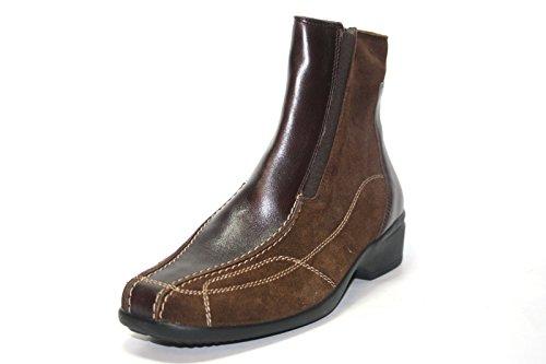 Ganter Gesina Botas 391021 Sapatos Femininos Tornozelo, De Largura G, Castanhos, Ue 34,5 (uk) 2,5 Castanhos