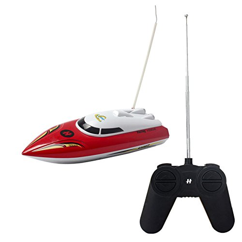 Sunshine Gifting Remote Control Toy Boat Ship, Ride in Water, 35 Meter Range, Assorted Color
