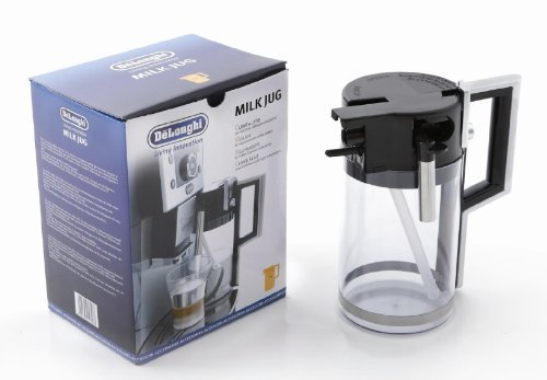 Delonghi Perfecta & Primadonna Range Super Automatic Coffee Maker Milk Jug by De'Longhi