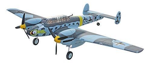 MODELTRONIC Avión bimotor Messerschmitt BF-110 1500mm PNP con tren retráctil